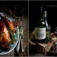 Kurczak pieczony w winie z czosnkiem i ziołami / Chicken baked in wine with garlic and herbs