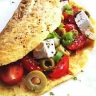"""Omlet z nadzieniem """"greckim"""""""