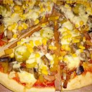 Pizza na bogato