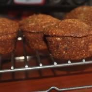 Zdrowe Muffiny Bananowe  z orzechami ,sezamem i popping z amarantusa,idealne na śniadanie lub przekąskę