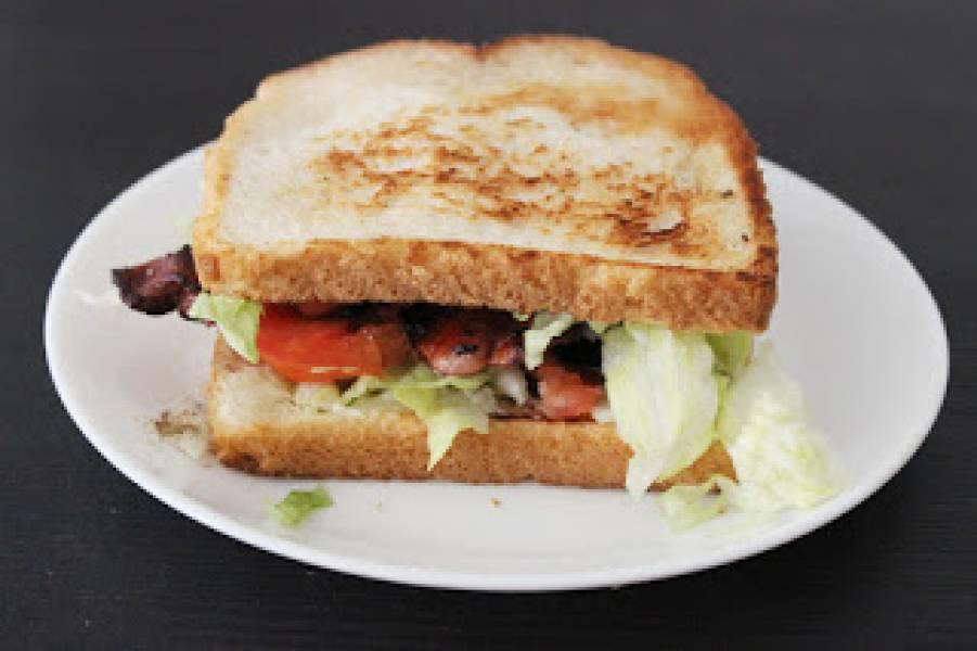 Amerykańska kanapka BLT (American BLT Sandwich)