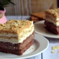 Ciasto kakaowo-waniliowe – bez pieczenia