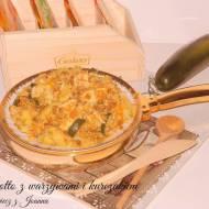 Kaszotto z warzywami i kurczakiem