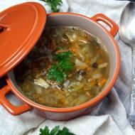 Zupa z kiszonych ogórków (dieta dr. Dąbrowskiej)