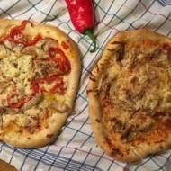 Pizza z resztkami z kurczaka