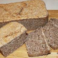 Bezglutenowy chleb zziarnami sorgo