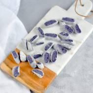 Kopytka z fioletowych ziemniaków