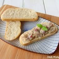 Pasta do chleba, z makreli