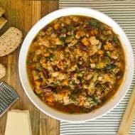 Ribollita – wykwintna włoska zupa z czerstwym chlebem