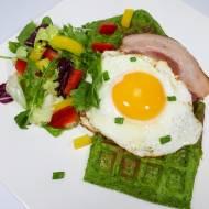 ZIELONE GOFRY (keto, LCHF, paleo, bez glutenu i laktozy)