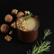 Zupa-krem z topinamburu z gruszką