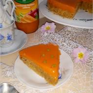 Ciasto marchewkowo-jabłkowe z kremem marchewkowym