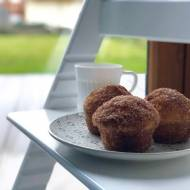 Muffiny pączkowe z cukrem cynamonowym