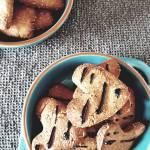 Ciastka z mąki arachidowej i masła orzechowego