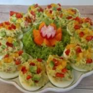Jajka faszerowane guacamole