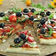 Pizza z grilla z cukinią
