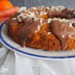 Owsiane ciasto marchewkowo-pomarańczowe