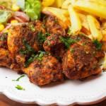 Ziołowe nuggetsy z piekarnika - dietetyczne / fit