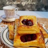 Ciasteczka francuskie z wiśniami wg Aleex