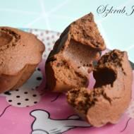 Karobowe muffinki jaglane z rodzynkami - bez mąki i cukru