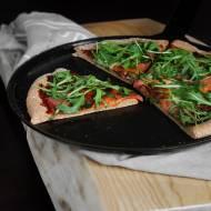 Pizza grahamka FIT | Zdrowsza wersja włoskiego przysmaku