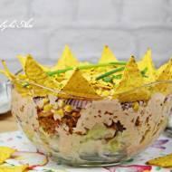 Sałatka meksykańska z nachos