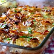 Ziemniaki boulangère (pieczone w bulionie)