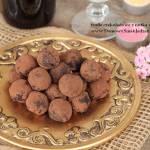 trufle czekoladowe z nutką wina