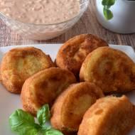 Rolowane ziemniaki z szynką szwarcwaldzką i mozzarellą