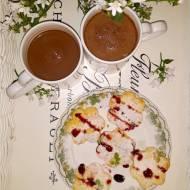Waniliowe kwiatuszki na walentynkowe śniadanie