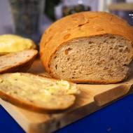 Chleb na miodzie ze słonecznikiem i orzechami włoskimi