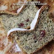 Jaglany piegusek (bezglutenowe ciasto z makiem)