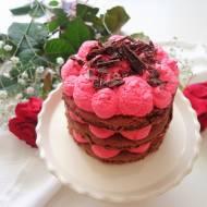 Torcik Walentynkowy z kremem chantilly (Torta di San Valentino con crema chantilly)