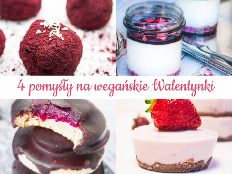 4 pomysły na wegańskie Walentynki