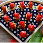 Koreczki z sercem :)