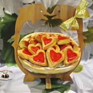 Błyskawiczne ciasteczka serowe z galaretką