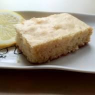 Błyskawiczne ciasto cytrynowe