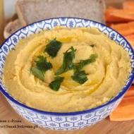 domowy humus z dynią