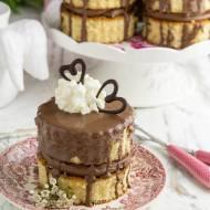 Mini torciki orzechowo-czekoladowe…
