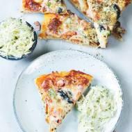 Pizza na kamieniu na Walentynki
