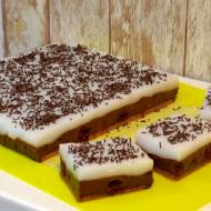Budyniowiec czekoladowy z pinacoladą