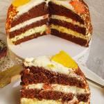 Tort Pomarańczowo Grejpfrutowy