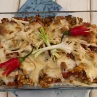 Zapiekanka z ryżem i papryczką chili