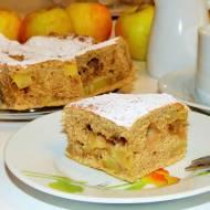 Ciasto jabłkowo-cynamonowe