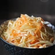 Surówka z kapusty z octem ryżowym