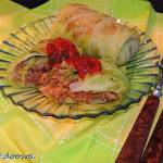 Gołąbki z kapusty włoskiej  z ryżem i mięsem