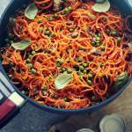 Spaghetti z marchewki - przepis