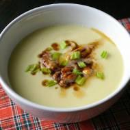 Kremowa zupa z kalafiora.