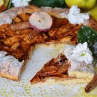 Rustykalna tarta z jabłkiem, imbirem i nutą cynamonu
