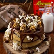 Tort Reese's z masłem orzechowym na 4. urodziny bloga